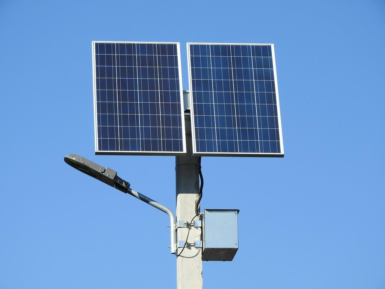 Panneau solaire avec batterie solaire