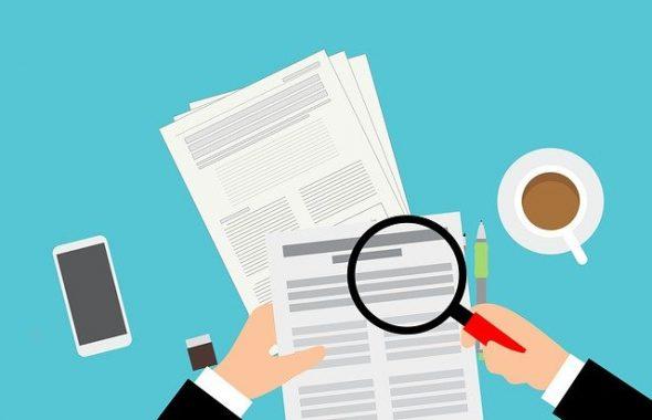 Documents et loupe