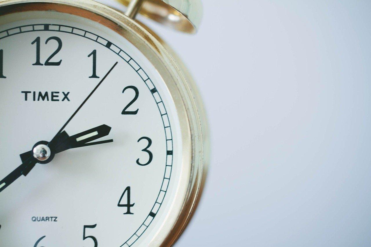 Horloge à 2h du matin